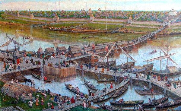 Мост Великий Новгород