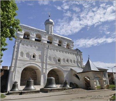 Софийская звонница в Великом Новгороде