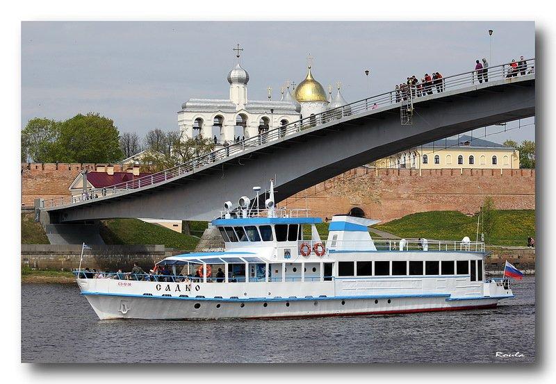 Речные прогулки в Великом Новгороде