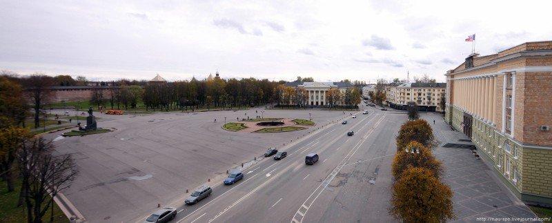 Софийская площадь в Великом Новгороде